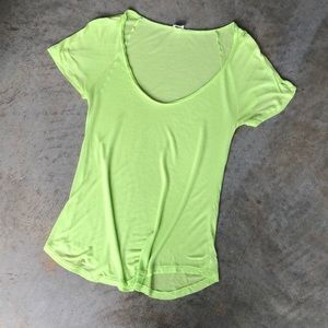 Wilfred Lime Green T Shirt